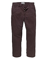 Jacamo Plum Modern Chinos 27 Inches