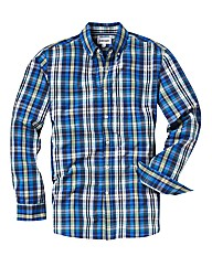 Jacamo Blue Check Shirt Long