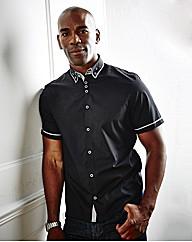 Black Label Short Sleeve Prado Shirt L