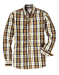 Jacamo Yellow Check Shirt Regular