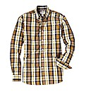 Jacamo Yellow Check Shirt Long