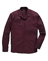 Black Label York Herringbone Shirt Long