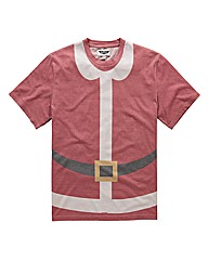 Label J Santa T-Shirt Long
