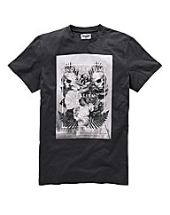 Label J Skull T-Shirt Long