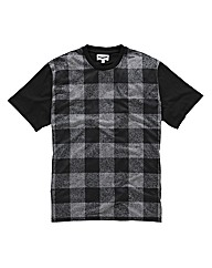 Label J Tartan T-Shirt Long