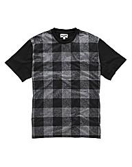 Label J Tartan T-Shirt Reg