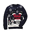 Flintoff By Jacamo Xmas Jumper Regular