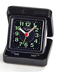 Black Quartz Travel Alarm