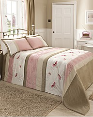 Mirage Quilted Throwover King