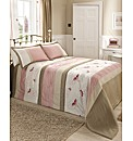 Mirage Quilted Throwover Double