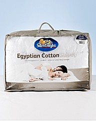 Silentnight Egyptian Cotton Duvet 13.5