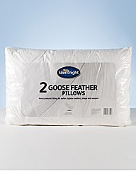 Silentnight Goose Feather Pillows