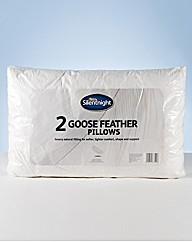 Silentnight Goose Feather Pillows