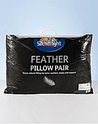 Silentnight Duck Feather Pillows