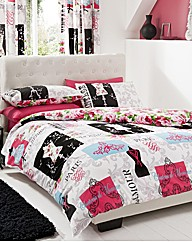 Fashionista Duvet Cover Set