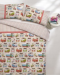 Camper Van Duvet Cover Set