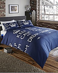 Keep Calm And Dream Duvet Set