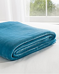 Supersoft Micro Fleece Bed Throwover