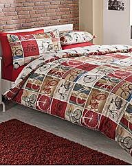 Cyclist Duvet Cover Set By Hashtag
