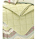 Abbie Quilted Throw by Kirstie Allsopp