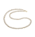 Gold-Plated Freshwater Pearl Necklace