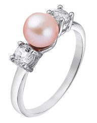 Pink Freshwater Pearl Ring