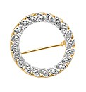 Diamond Accent Brooch