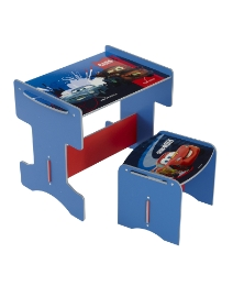 Cars 2 Desk & Stool
