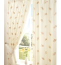 Cubes Lined Voile Range Curtains
