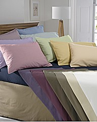 Percale Bedlinen Flat Sheet