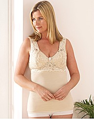 Cotton Lace Support Camisole