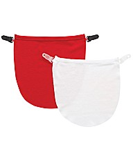 Modesty Panel Pack 2 Red/White