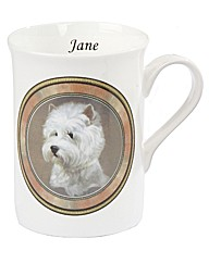 Longton Mugs Dog Personalised