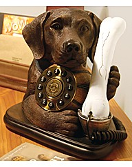 Labrador Dog and Bone Phone