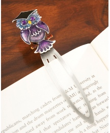 Tawny Graduate Owl Bookmark
