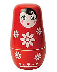 Russian Doll Ceramic Measuring Cups