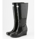 Wedge Welly Flex Black