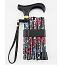 Fruits Folding Walking Stick with Wrap