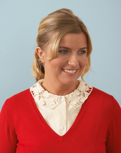 Lace Collar Dickey Pack 3 £11.02 AT vintagedancer.com