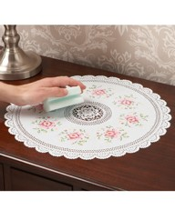 Vinyl Lace Effect Cross Stitch Mats