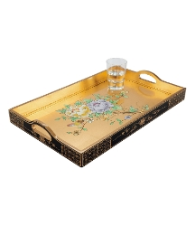 Gold Leaf Range Tray