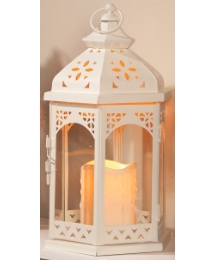 Lantern with FREE LED R/C Candle