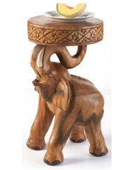 Hand Carved Tables Elephant