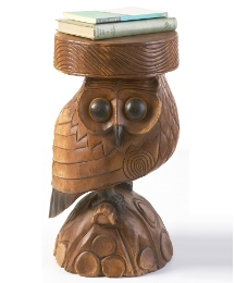 Hand Carved Tables Owl