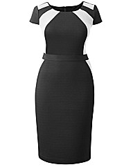 MAGISCULPT Fitted Dress Length 41in