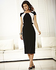 MAGISCULPT Fitted Dress Length 45in
