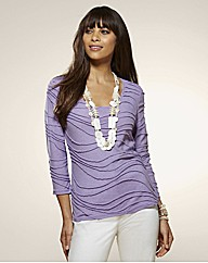 Top to Toe Ripple Jersey Top