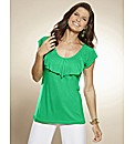 Frill Jersey Top