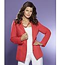 Peplum Linen Jacket