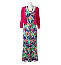3 Piece Maxi Dress Set Length 52in